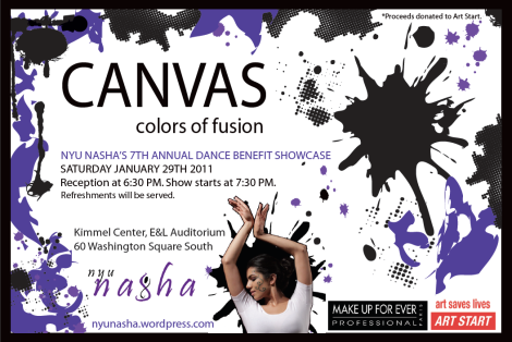 NASHA Presents--Canvas, Colors of Fusion