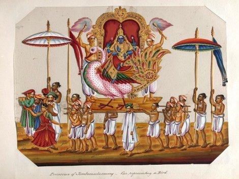 Brahma Utsavamoorthy dancer and party
