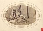 Cashmere nautch girl; a photo by Samuel Bourne, 1860