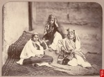 "Nautch girls [Kabul],"" a photo by John Burke, c.1879-80"