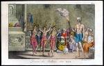 """""""Danza dei Ballerini delli Balok,"""" by Giulio Ferrario, from Il Costume Antico et Moderno, 1828 edition"""