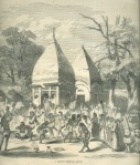 """A Hindoo Festival Dance"" from Ballou's Pictorial, 1858"