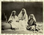 "Nautch girls, Kashmir,"" an albumen print by Frith, c.1870's"