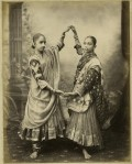 "Nautch girls,"" an albumen print, c.1880's"