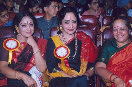 Dr. Padma Subrahmanyam and Prof. Sudharani Raghupathy Image courtesy : www.padmadance.com