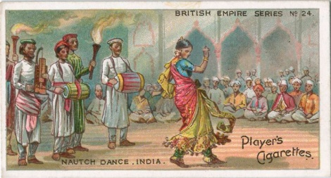 Nautch dance, India. (ca. 1903-1917)