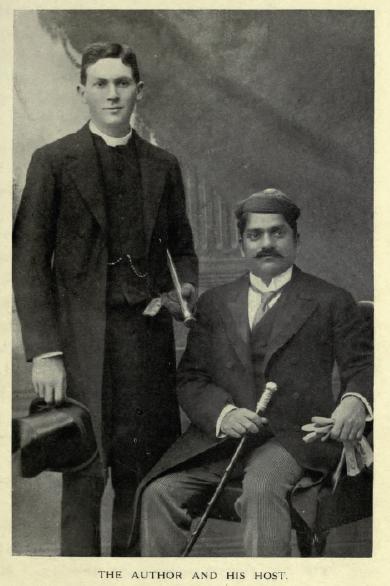 Reverand with Maharaja Sayajirao Gaekwad