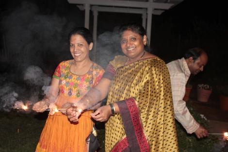 Door 2 Sanctuary for Traditions - Deepavali sparklers in San Jose