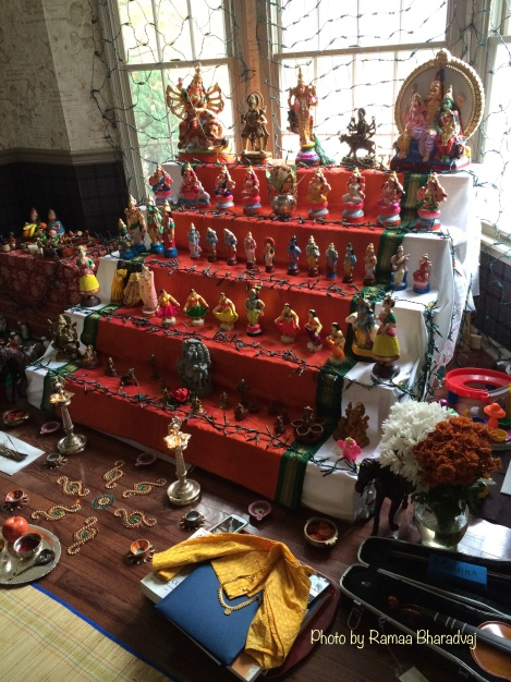 Door 2 Sanctuary for Traditions - golu in New Jersey - photo by Ramaa Bharadvaj