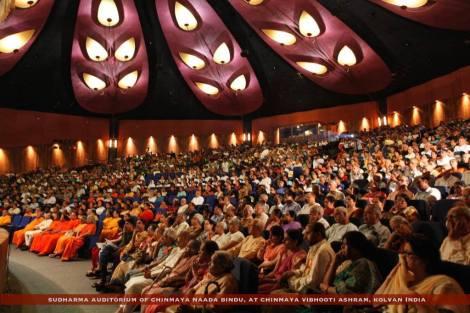 Sudharma Auditorium of Chinmaya Naada Bindu